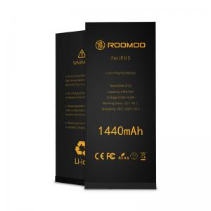 China 100% Cobalt 1440mAh Apple Iphone 5 Battery , Li Ion Iphone Five Battery 12 Months Warranty on sale