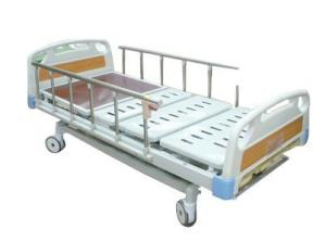 China Adjustable Folding Manual Hospital Bed For Ambulance With CPR Function on sale