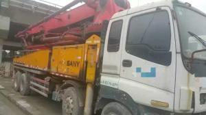 China 46M 2011 used Sany CONCRETE PUMPS TRUCK MOUNT Concrete Pumps on sale