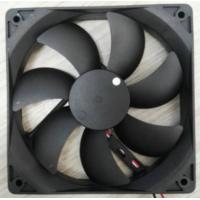 plastic blades axial flow fan 120x120x25mm 120mm low noise 12v dc brushless fan