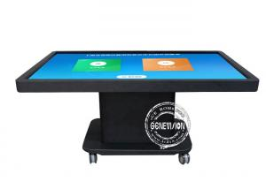 China Indoor Digital Kiosk Touch Screen Monitor 55 Interactive Touch Screen Gaming Table on sale