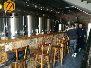 China Indoor / Outdoor Complete Microbrewery System Capacities Up To 120000HL on sale