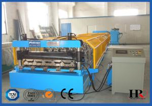 China Steel Sheet Roll Forming Machine For Corrugated  Roof / Wall Panel Producing on sale