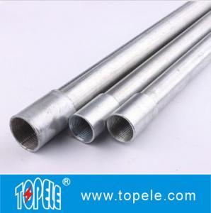China 3/4は必要なカップリングが付いている電流を通された BS4568 水路/GI の管を熱浸しました on sale