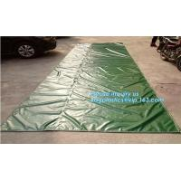 Clear Vinyl Shower Curtains Fire Retardant PVC Coated Polyest Fabric,PE Cloth Material For Tarpaulin Design, bagplastics