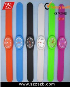 China slap silicone watch on sale