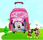 Le sac à dos d'école de chariot à Mickey badine le sac à dos de chariot à école--sac mignon de chariot