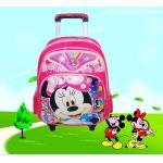 Mochila de la carretilla de la escuela de los niños de la mochila de la escuela de la carretilla de Mickey--bolso lindo de la carretilla