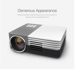China USB VGA HDMI Digital Led Android Smart Projector 80 Lumens Native Video for Home Theater / AV on sale