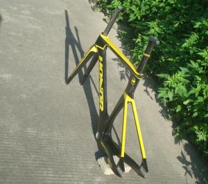 Quality 1550g Carbon Track Bike Frame 49cm 51cm 54cm 56cm HT-FM126 for sale