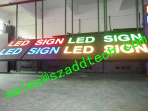 China USA Front Accessible LED Sign on sale
