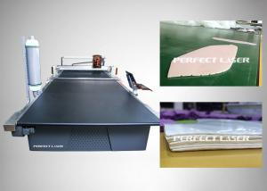 China Sensitive Cloth CO2 Laser Cutting Machine With Powerful Integration Software on sale