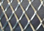 China Galvanized Aliminum Expaned Flattened Mesh Weave 50mm*50mm*2.5mm Strength wholesale