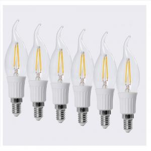 China 2W Candelabra LED Filament Candle Light on sale