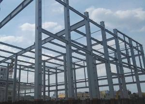 China Earthquake Resistance Prefabricated Steel Structure Building Hot Dip Galvanized Stable on sale