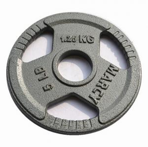 China 20kg Commercial Grade Tri-Grip Handles Portable Dumbbells Hammertone Cast Iron Weight Lifting Plate on sale