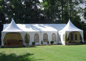 China Sizes Customized PVC Pagoda Party Tent With Sidewalls ISO 9001 Approved on sale