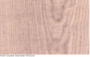 Red Ash Dyed Wood Veneer Natural Sliced Cut Furniture Wood