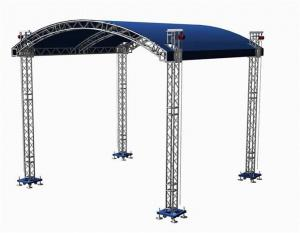 China hot sale professional truss for concert lighting /aluminum stage truss on sale
