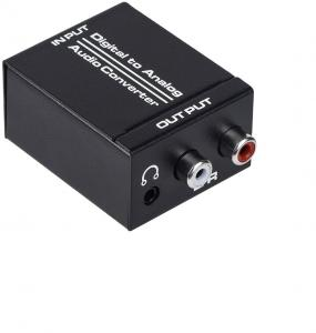 China Optical SPDIF To Analog Stereo Converter on sale