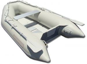 China 8'10 M270 Slated Floor Roll - Up Foldable Inflatable Boat Light Weight Boats on sale