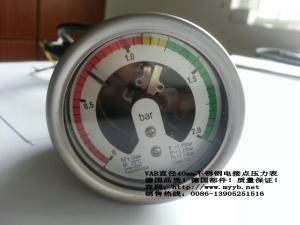China magnetic electric contact pressure gauge series on sale