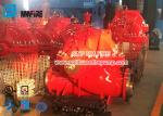 UL / FM Airport Use Diesel Engine Driven Fire Pump Set With Single Stage Split Case Fire Pump 1500gpm @ 140-175PSI