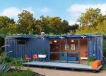 Single  Story  Storage Ready Made Shipping Container Homes  To Live In  Foldable