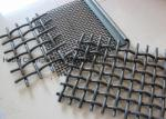 Plain Weave Galvanized Crimped Woven Wire Mesh Stainless Steel Square Chemical Resistant