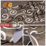 Classcial Printed PVC Artificial Flim For Wall Deciration , 140 CM Width