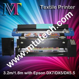 China Cabeça da impressora 1440dpi DX7 da sublimação da série de Epson 1.8m/3.2m opcional on sale