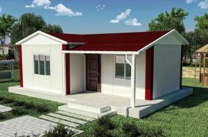 China Germany Prefabricated Dismountable Movable House Customized Steel Structure House on sale