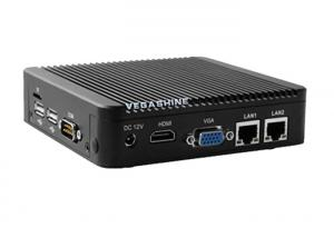China N2930 mini aluminum chassis network firewall security industrial pc high performance wholesale