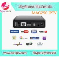 Full HD 1080p Linux arabic IPTV set top box mag250 with 1 year account 680+ arabic french