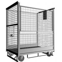 Demountable Wire Mesh Roll Container Folding Roll Cage 500-1200kgs