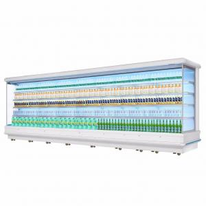 China Front Multideck Open Display Chiller For Fruit And Vegetable Energy Saving on sale