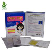 China China Online Wholesale Customize 5Bags Per Box Cleansing Gold Foot Detox Pads on sale