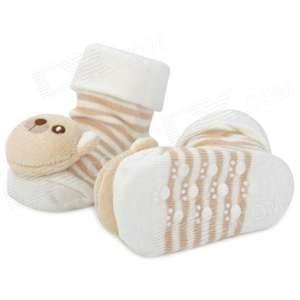 China Disposable Winter 3d Non Slip 100%cotton baby socks,   baby slip resistance ankle socks on sale
