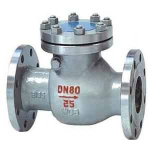 China Corrosive Liquid Vertical Lift Check Valve / Wafer Check Valve , Light Weight on sale