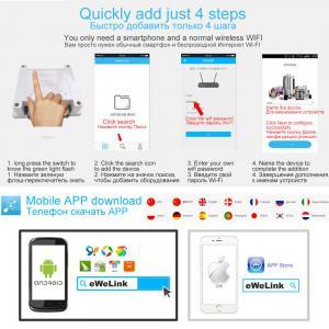 2 Way 30A WiFi RF Relay Smart Switch Amazon Alexa Google