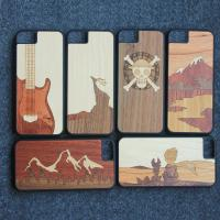 100% Handmade Wood iPhone Case Ultra Slim iPhone All Models Usage
