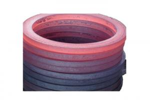 China Seamless Rolled Forged Steel Parts Carbon Steel Ring Forging Process on sale