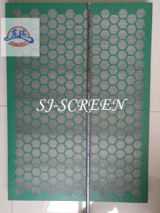 China Drilling VSM 300 Shaker Screens Stainless Steel Wire Mesh And Metal Frame Material on sale