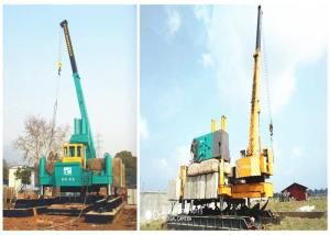China Three Type Hydraulic Piling Machine , Hydraulic Rotary Drilling Rig on sale