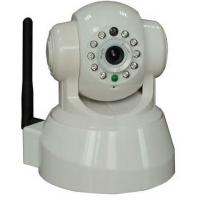 China TCP / IP , HTTP Digital h.264 indoor wireless security ip camera with IR Distance 10 m , Waterproof on sale