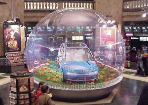 China Popular Inflatable Bubble Tent / Car Capsule / Hail Proof Car Cover SGS Certification on sale