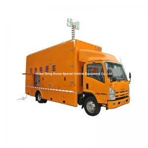 China ISUZU Mobile Generator Truck For Emergency Power Supply 200kw 50hz 3 Phase 220V Unit on sale