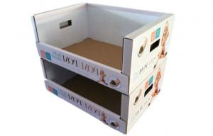 China Portable Retail Pop Cardboard Display PDQ For Cloth Display on sale