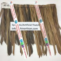 China AT-016 Tropical Real Palm Leaf Thatched Roofing Cover for roofs / gazebos/ tiki hut/ tiki bra/ umbrella on sale