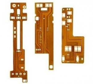 China Custom FPC Flexible Circuit Boards , 1 layers Polymide Material on sale